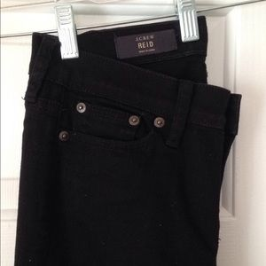 JCrew straight-leg jean, black size 26